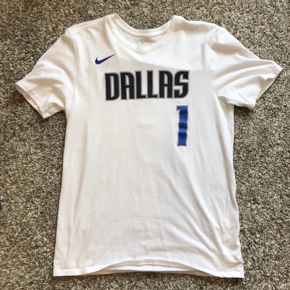 new style 4ea6b aa0f3 Dennis Smith Jr. Dallas Mavericks T-Shirt Jersey